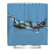 Raf Fm-2 Wildcat Shower Curtain