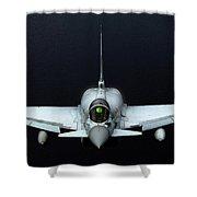 Raf Typhoon Inflight Shower Curtain