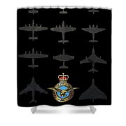 Raf100 - The Bombers Shower Curtain
