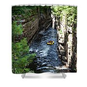 Rafting In A Gorge Shower Curtain