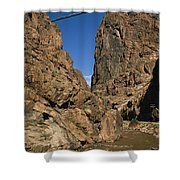 Rafting On The Arkansas River Shower Curtain