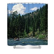 Rafting Shower Curtain