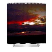 Rage - Sunset Shower Curtain