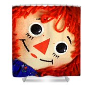 Raggedy Ann Shower Curtain