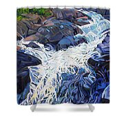 Ragging Waters Shower Curtain