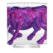Raging Bull Taurus Shower Curtain