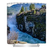 Raging River Shower Curtain
