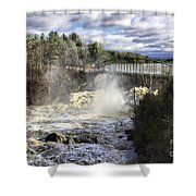 Raging Water Shower Curtain