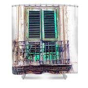 Ragusa Window Shower Curtain