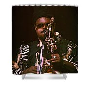 Rahsaan Roland Kirk 3 Shower Curtain