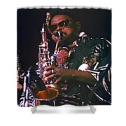 Rahsaan Roland Kirk 4 Shower Curtain