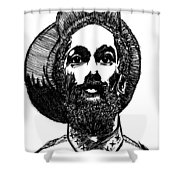 Rahsta1 Shower Curtain