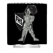 Raider Shower Curtain