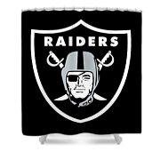 Raiders  Shower Curtain