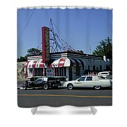 Raifords Disco Memphis A Shower Curtain