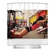 Rail Male Enhancement Shower Curtain