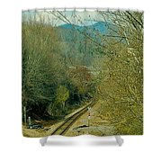 Railroad Adventure Shower Curtain