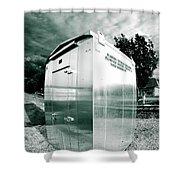 Railroad Box 86 Shower Curtain