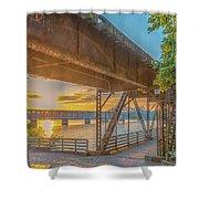 Railroad Bridge12 Shower Curtain