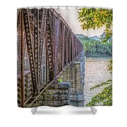 Railroad Bridge14 Shower Curtain