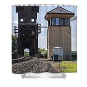 Railroad Lift Bridge2 A Shower Curtain