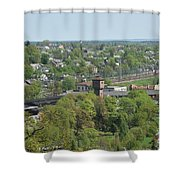 Railroad Shower Curtain