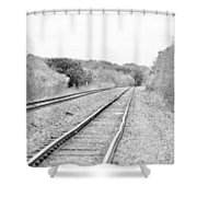 Rails 004 Shower Curtain