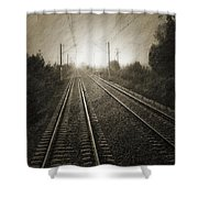 Rails Shower Curtain