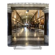 Railway Hall Shower Curtain