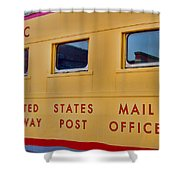 Railway Post Office Shower Curtain