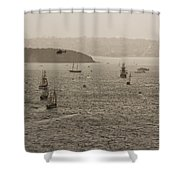 Rain And Wind Wont Stop Us Shower Curtain