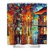 Rain Energy Shower Curtain
