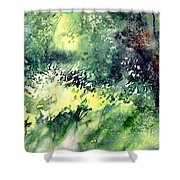 Rain Gloss Shower Curtain