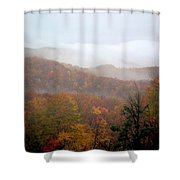 Rain In Smokies Shower Curtain