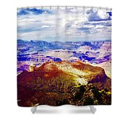 Rain Is Coming Shower Curtain