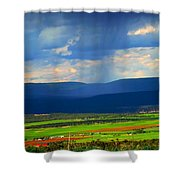Rain Over The Uncompaghre Shower Curtain