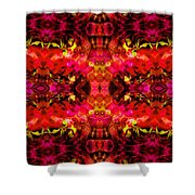 Hard Rain Shower Curtain