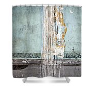 Rain Ruined Wall Shower Curtain