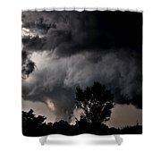 Rain Shaft 01 Shower Curtain