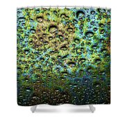 Rain Stains Shower Curtain
