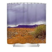 Rain Storm Shower Curtain