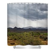 Rain Up North Shower Curtain