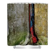 Rain Water Pipe Shower Curtain
