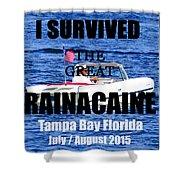 Rainacaine Tampa Bay 2015 Shower Curtain