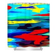 Rainbow 4 Shower Curtain