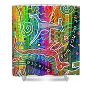 Rainbow Animals Yoga Mat Shower Curtain