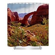 Rainbow Arch Shower Curtain