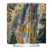 Rainbow At Bridal Veil Shower Curtain