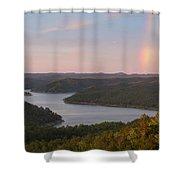 Rainbow At Broken Bow Lake Shower Curtain