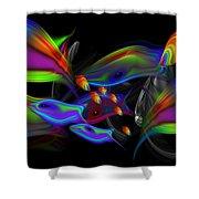 Rainbow Deep Shower Curtain